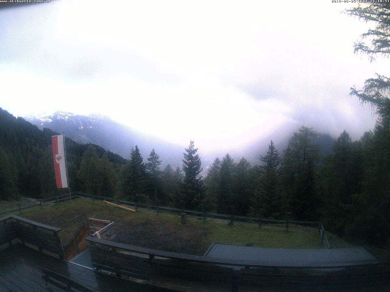 Webcam Landeck - Zams, Blick von der Schihütte Zams